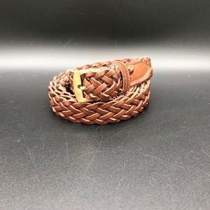 Made in India woven leather belt